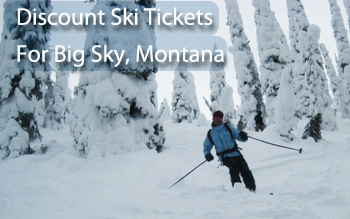 big sky ski resort discount ski tickets and by owner lodging